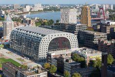 Markthal, Rotterdam. Engineering by Inbo