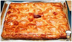 Empanada de Jamón Queso y Dátiles Horneada