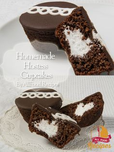 These homemade Hostess cupcakes are unequivocally and unspeakably better than the original Hostess cupcakes that come shrink-wrapped and preservative-laden. Swear. But here's the trick—this particular chocolate cake seems dry and crumbly when it comes out of the oven. Once the cakes have been pumped full of marshmallow fluff filling and have had a moment to collect themselves, though, they turn moist—but not mushy—through and through. Homemade Hostess Cupcakes Yield: 12 cupcakes Prep Time…