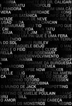 """le gisocope"" by thiago lacaz / brazil, 2012 / digital print, 640 x 940 mm – poster Typo Design, Graphic Design Posters, Graphic Design Typography, Graphic Design Inspiration, Book Design, Web Design, Typo Poster, Typographic Poster, Editorial Design"