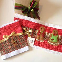"""""""E para esse Natal preparamos uma fornada de Gingerbread para deixar sua cozinha…"""