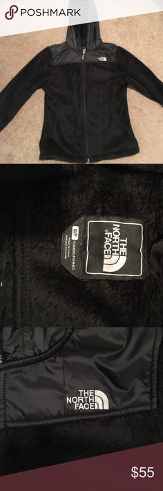 North face hoodie small super soft Zip up north face hoodie, size small. Great condition North Face Jackets & Coats