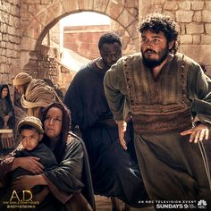 John and Matthew fight for survival on an all new episode of A.D. The Bible Continues. | A.D. The Series