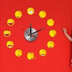 diy Wandtattoo Uhr
