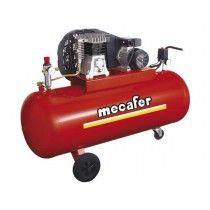 mecafer - compressor - 3 pk - 200 l - 10 bar