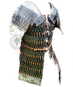 Armure médiévale lamellaire chinois-Mongolian