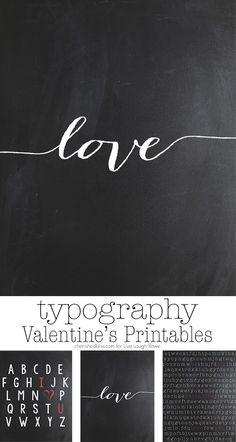 Three Typographic Pr