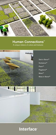 Connect people to nature within interior spaces with Human Connections modular carpet. These carpet Textured Carpet, Patterned Carpet, Office Carpet, Hotel Carpet, Shaw Carpet, Carpet Squares, Neutral, Berber, Professional Carpet Cleaning