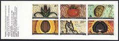 Spain Scott #B158a (16 Oct 1989) Folded booklet pane of six semi-postal stamps:   Corn; Tomato; Potato; Cocoa; Horse; Turkey …all found in the New World by Columbus and the Spaniards that followed him except the horse.  Historians say the horse had been in North America but was extinct. Columbus introduced the Spanish horses (E. caballus) to the Americas on his second voyage in 1493.   Discovery of America 500th Anniversary issue with the 500 emblem on the stamps. Christopher Columbus, Centenario, Extinct, Historian, Booklet, Discovery, Cocoa, North America, Potato