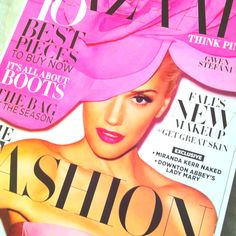 Oh how I love the September issue! #fall fashion