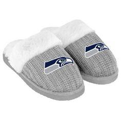 Seattle Seahawks ladies slippers! ;)