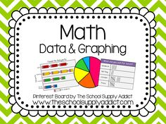 Data & Graphing Pin Board by The School Supply Addict