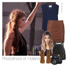 """Photoshoot of Holland"" by magicmagcon on Polyvore featuring 3.1 Phillip Lim, ONLY, Yves Saint Laurent, Michael Kors, Forever 21 and Marc Jacobs"
