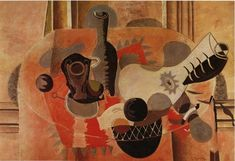 Still Life with Guitar - Georges Braque