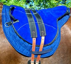 The LittleJoe hippotherapy saddle
