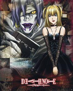 Poster Death Note Misa et Rem