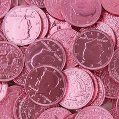 In a world with pink coins