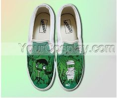 Special Hand Drawing Custom Universal Canvas Shoes Custom-048, New Arrival Hand Drawing Shoes, Cosplay Hand Drawing Shoes