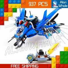 Cheap toy brick, Buy Quality compatible with lego directly from China assembly toy Suppliers: 973pcs New Ninja Lightning Jet Plane Fighter Kids 06050 Model Building Blocks Children Assemble Toys Bricks Compatible With lego