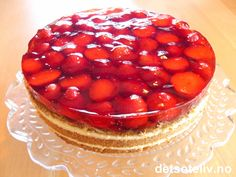 Pudding Desserts, Pavlova, Cheesecake, Food And Drink, Sweets, Baking, Recipes, Denmark, Norway
