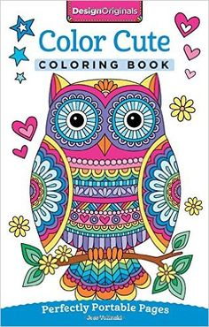 Color Cute Coloring Book: Perfectly Portable Pages (On-the-Go Coloring Book): Jess Volinski: 9781497202382: AmazonSmile: Books