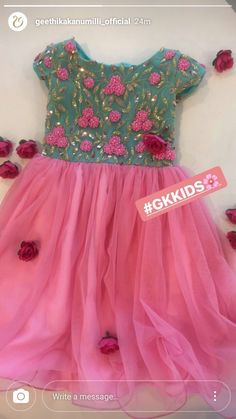 Baby Frock Pattern, Frock Patterns, Baby Girl Dress Patterns, Kids Dress Wear, Kids Gown, Kids Wear, Kids Lehenga Choli, Anarkali, Frocks For Girls