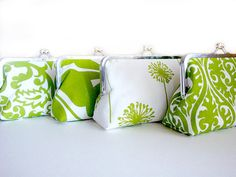 Items similar to Set of 4 - Bridesmaids Clutches Green Bridesmaids Custom Wedding Purses Bags by Lolis Creations - Personalized Bridesmaids Gift Set on Etsy Bridesmaid Clutches, Bridesmaid Gifts, Navy Green Weddings, Gifts For Wedding Party, Wedding Ideas, Wedding Stuff, Wedding Inspiration, Bridesmaids And Groomsmen, Green Bridesmaids