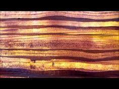 ▶ Acrylmalerei. Techniken Strukturen- Schabetechnik - YouTube