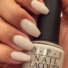 """""""Don't Bossa Nova Me Around"""" by @opi_products love this neutral... #Favs #JulissaBbeauty #classic"""