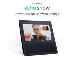 Echo Show, Smart speaker and screen with Alexa - Black Amazon Official Site, Amazon New, Amazon Video, Amazon Echo, Amazon Today, Amazon Deals, Alexa App, Alexa Echo, Photos
