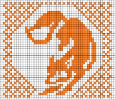 Thrilling Designing Your Own Cross Stitch Embroidery Patterns Ideas. Exhilarating Designing Your Own Cross Stitch Embroidery Patterns Ideas. Crochet Cross, Filet Crochet, Crochet Chart, Knitting Charts, Knitting Stitches, Knitting Patterns, Fox Pattern, Mittens Pattern, Cross Stitch Charts