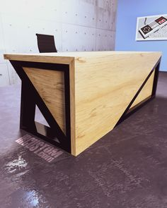 Different Angles Reveal Different Worlds.  Modern Industrial Desks + Tables built from Steel x Hardwood.  iRcustom.com