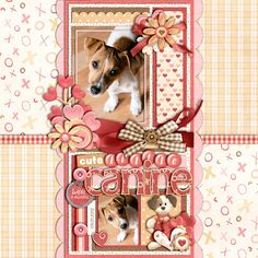 Cute Little Canine - Scrapbook.com