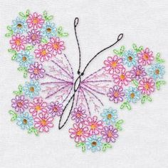 OregonPatchWorks.com - Sets - Colorful And Graceful Butterflies