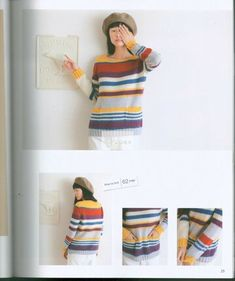 "Photo from album ""Top-Down Sweaters"" on Yandex. Top Down, Views Album, Knit Crochet, Summer Dresses, The Originals, Knitting, Sweaters, Tops, Yandex Disk"