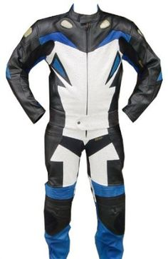 2pc X-MEN Motorcycle leather Racing Riding Track Suit CE Armor New w// Padding