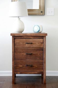 Chest of Drawers from 2 by 4s