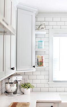 mini floating shelves