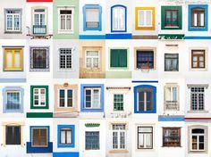 Beautiful Variety Of Windows Styles Around The Europe   One Big Photo