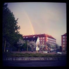 Regnbue over Vigerslev Alle