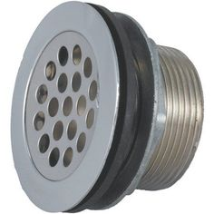 JR Products 9495-211-022 RV Shower Strainer with Grid, Locknut, Slipnut and Rubber and Plastic Washer, Multicolor