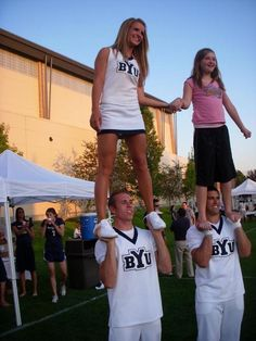 "BYU Cheerleading, cheerleaders, Cougars, from BYU Cheer on Facebook - MormonFavorites.com ""I cannot believe how many LDS resources I found... It's about time someone thought of this!"" - MormonFavorites.com"