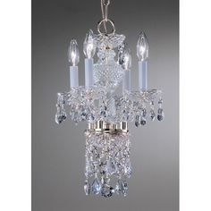 Found it at Wayfair - Monticello 4 Light Crystal Chandelier