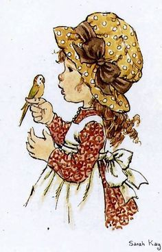 "Képtalálat a következőre: ""sarah kay"" Sarah Key, Sarah Kay Imagenes, Cute Images, Cute Pictures, Decoupage, Hobbies To Try, Holly Hobbie, Hobby Horse, Cute Illustration"