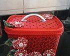 maletinha feita de pote de sorvete