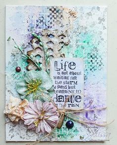 Blue Fern Studios: August Education Video with Jelissa - gel transfer technique Altered Canvas, Altered Art, Mixed Media Collage, Mixed Media Canvas, Card Creator, Mixed Media Scrapbooking, Mixed Media Techniques, Encaustic Art, Canvas Art