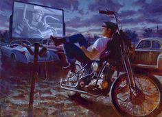 Racing Cafè: Art Motorcycle - David Uhl # 2