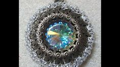 (8) How to Make a SuperDuo Rivoli Bezel (Beadweaving 292) - YouTube