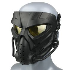 Latex Cosplay, Cosplay Costumes, Ballistic Mask, Winter Soldier Mask, Paintball Mask, Cool Airsoft Masks, Airsoft Gear, Tactical Helmet, Cool Masks