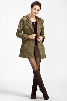 Aliexpress.com : Buy Women Cotton Coat faux fur Coats Winter warm parka Outerwear clothes military hooded thick jacket from Reliable down parka suppliers on King World International Trading Limited $68.39